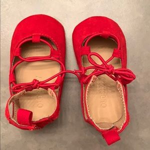 Baby girl shoes size 3-6 months